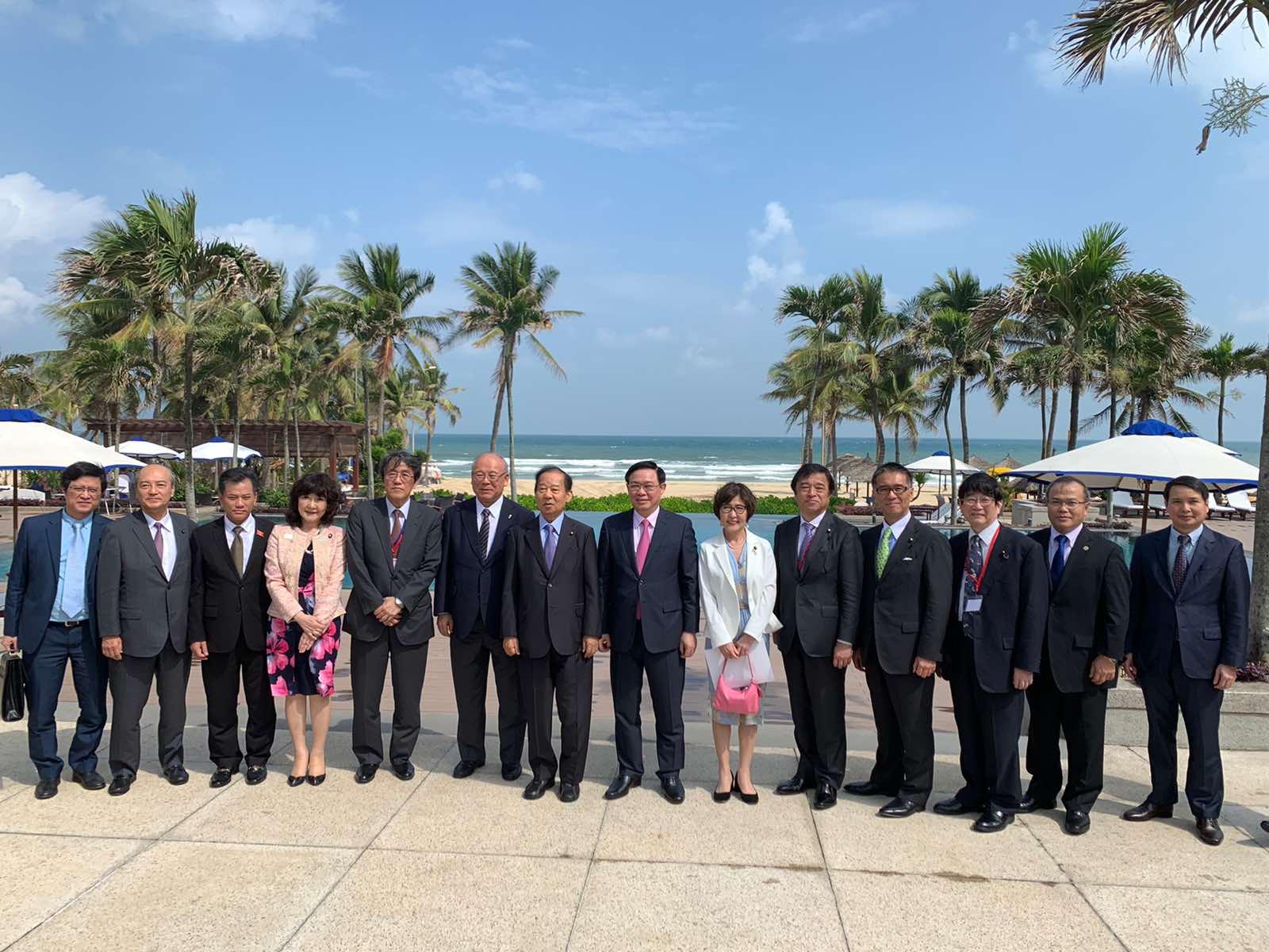日本ベトナム文化経済観光交流団の訪越