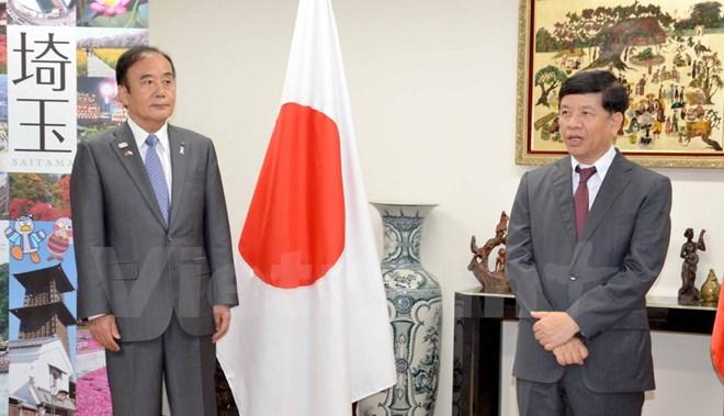在京ベトナム大使館と埼玉県行政が共催