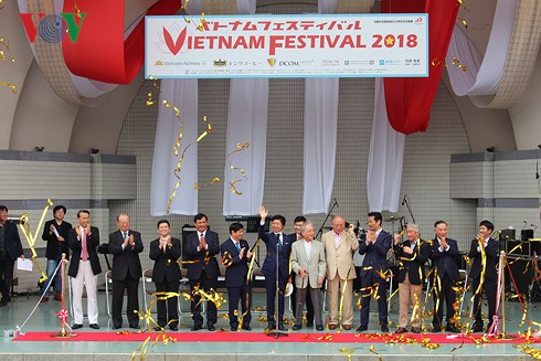 Tưng bừng Lễ hội Việt Nam 2018 tại Nhật Bản