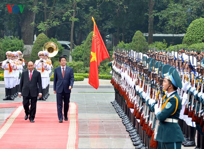 Toàn cảnh chuyến thăm Việt Nam của Thủ tướng Nhật Bản Shinzo Abe