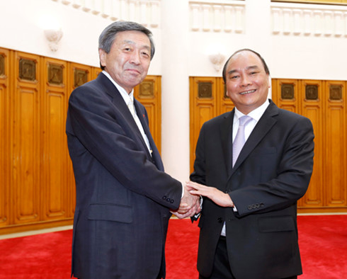 Japanese Economy, Trade and Industry Minister welcomed